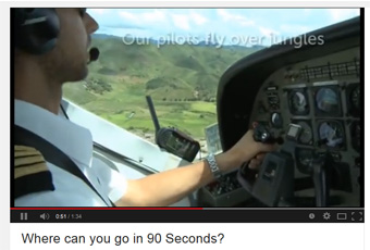 Where can you go in 90 seconds?